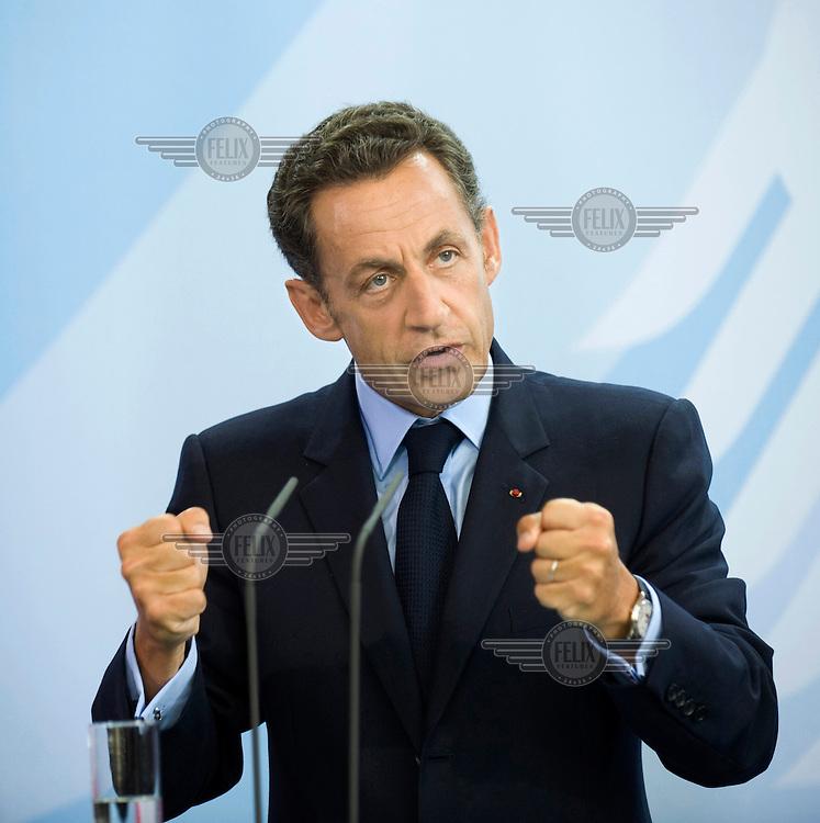 Nicolas Sarkozy, President of France.