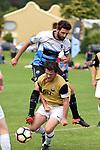 NELSON, NEW ZEALAND - APRIL 1: Tahuna 1st XI v Suburbs Seals, April 1, 2017 Tahunanui, Nelson, New Zealand. (Photo by: Barry Whitnall Shuttersport Limited)