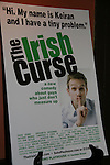 poster -  at the Opening Night of the off-Broadway play The Irish Curse on March 28, 2010 at the Soho Playhouse, New York City, New York. (Photo by Sue Coflin/Max Photos)