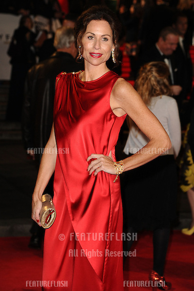 Minnie Driver arriving for the Royal World Premiere of 'Skyfall' at Royal Albert Hall, London. 23/10/2012 Picture by: Steve Vas / Featureflash