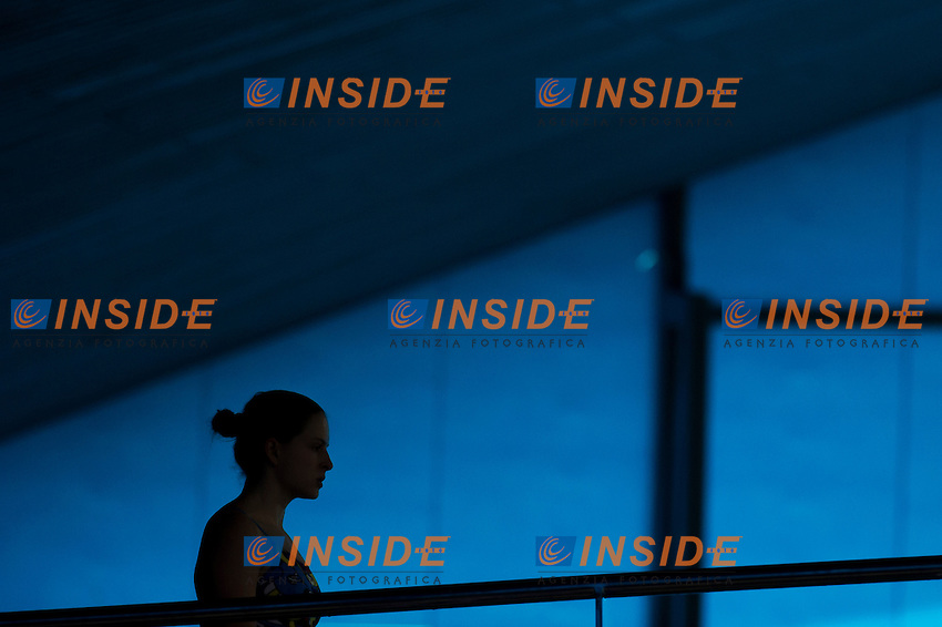 BATKI Noemi ITA<br /> London, Queen Elizabeth II Olympic Park Pool <br /> LEN 2016 European Aquatics Elite Championships <br /> Diving<br /> Women's 10m platform preliminary <br /> Day 05 13-05-2016<br /> Photo Giorgio Perottino/Deepbluemedia/Insidefoto