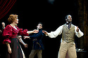 Red Velvet by Lolita Chakrabarti, directed by Indhu Rubasingham. With Charlotte Lucas as Ellen Tree, Ferdinand Kingsley as Henry Forrester,  Adrian Lester as Ira Aldridge. Opens at The Tricycle Theatre on 16/10/12.  CREDIT Geraint Lewis