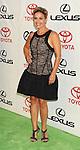 BURBANK, CA - SEPTEMBER 29: Cat Cora  arrives at the 2012 Environmental Media Awards at Warner Bros. Studios on September 29, 2012 in Burbank, California.