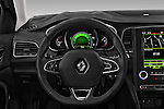 Car pictures of steering wheel view of a 2016 Renault Megane-Grandtour Bose-Edition 5 Door wagon Steering Wheel