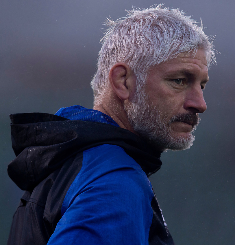 Bath Rugby's Head Coach Todd Blackadder<br /> <br /> Photographer Bob Bradford/CameraSport<br /> <br /> Gallagher Premiership Round 9 - Bath Rugby v Sale Sharks - Sunday 2nd December 2018 - The Recreation Ground - Bath<br /> <br /> World Copyright © 2018 CameraSport. All rights reserved. 43 Linden Ave. Countesthorpe. Leicester. England. LE8 5PG - Tel: +44 (0) 116 277 4147 - admin@camerasport.com - www.camerasport.com
