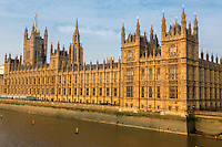 UK, England, London.  Westminster Palace, Houses of Parliament, Commons Side.