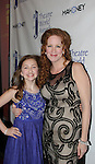 Sarah Charles Lewis receives Award - Tuck Everlasting poses with her mom - 72nd Annual Theatre World Awards hosted by Peter Filichia at Circle in the Square Theatre on May 23, 1916 in New York City, New York. (Photo by Sue Coflin/Max Photos)