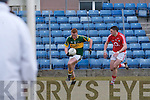 Kerry's Johnny Buckley and Cork's Chris O'Donovan.