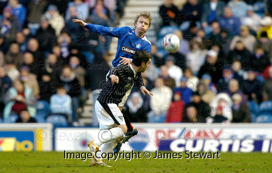 11/11/2006       Copyright Pic: James Stewart.File Name :sct_jspa19_rangers_v_dunfermline.STEVEN SMITH CLEARS FROM SCOTT MORRISON.James Stewart Photo Agency 19 Carronlea Drive, Falkirk. FK2 8DN      Vat Reg No. 607 6932 25.Office     : +44 (0)1324 570906     .Mobile   : +44 (0)7721 416997.Fax         : +44 (0)1324 570906.E-mail  :  jim@jspa.co.uk.If you require further information then contact Jim Stewart on any of the numbers above.........