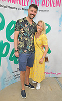 "LONDON, ENGLAND - AUGUST 08: Alex Goward, Laura Hamilton at the ""Peter Pan"" production press performance, Troubadour White City Theatre, Wood Lane, on Saturday 27 July 2019 in London, England, UK.<br /> CAP/CAN<br /> ©CAN/Capital Pictures"