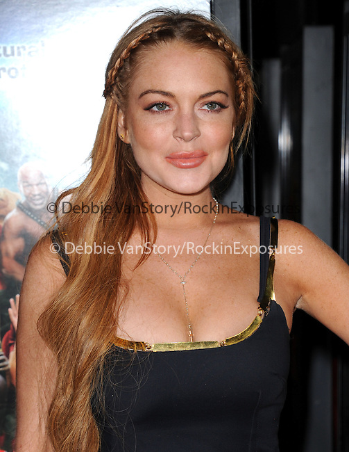 Lindsay Lohan at The Dimension Films Premiere of Scary Movie V held at The Cinerama Dome in Hollywood, California on April 11,2013                                                                   Copyright 2013 Hollywood Press Agency