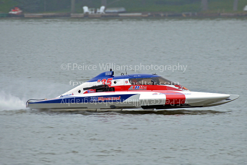 "John Shaw, E-35 ""T M Special""  (5 Litre class hydroplane(s)"