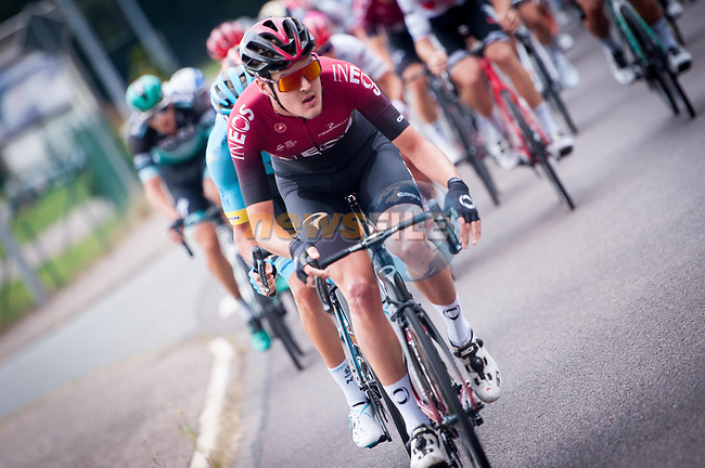 Pavel Sivakov (RUS) Team Ineos in action during Stage 4 of the Deutschland Tour 2019, running 159.5km from Eisenach to Erfurt, Germany. 1st September 2019.<br /> Picture: Mario Stiehl | Cyclefile<br /> All photos usage must carry mandatory copyright credit (© Cyclefile | Mario Stiehl)