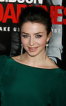 "LOS ANGELES, CA. - January 26: Caterina Scorsone attends the ""Edge Of Darkness"" Los Angeles Premiere at Grauman's Chinese Theatre on January 26, 2010 in Los Angeles, California."