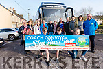 The launch of the Slea Head Coach Convoy Tour in aid of the Kerry Hospice Foundation at the South Pole Inn, Annascaul, on Monday afternoon.