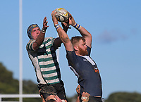 Action from the Wellington premier reserve club rugby final between Petone and Old Boys University at Petone Rec in Wellington, New Zealand on Saturday, 5 August 2017. Photo: Dave Lintott / lintottphoto.co.nz