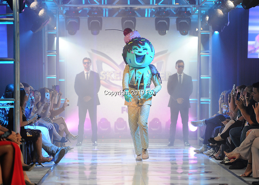 """BEVERLY HILLS - SEPTEMBER 10:  Ice Cream at the Season two premiere event for FOX's """"The Masked Singer"""" at The Bazaar at the SLS Beverly Hills on September 10, 2019 in Beverly Hills, California. (Photo by Scott Kirkland/FOX/PictureGroup)"""