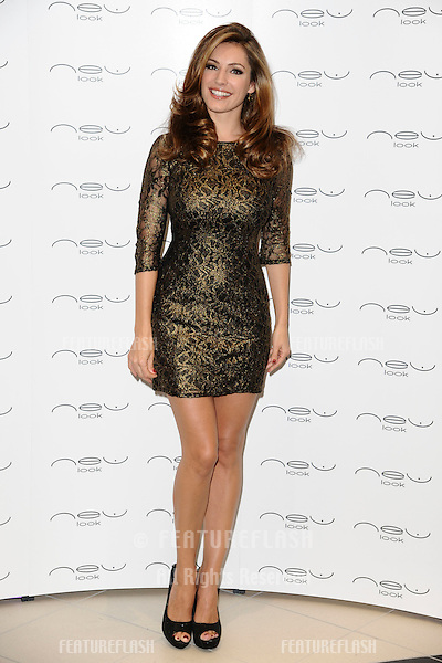 Kelly Brook at the Grand Opening of the New Look store in Westfield Stratford shopping centre, London. 13/09/2011  Picture by: Steve Vas / Featureflash