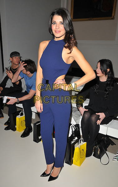 Natalie Anderson attends the David Ferreira a/w 2016 catwalk show, Freemasons' Hall, Great Queen Street, London, UK, on Friday 19 February 2016.<br /> CAP/CAN<br /> &copy;Can Nguyen/Capital Pictures
