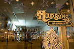 Idaho, North, Coeur d'Alene. Hudsons Hamburgers a fixture in downtown Coeur d'Alene since 1907.