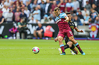 Jack Wilshere of West Ham United during the Premier League match between West Ham United and Manchester City at the London Stadium, London, England on 10 August 2019. Photo by David Horn.