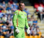 St Johnstone Fc Season 2012-13.Alan Mannus.Picture by Graeme Hart..Copyright Perthshire Picture Agency.Tel: 01738 623350  Mobile: 07990 594431