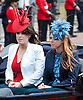 "TROOPING THE COLOUR_PRINCESSES BEATRICE & EUGENIE.Soldiers of the Household Division paraded today to mark the Queen's Official Birthday on Horse Guards Parade at the ceremony known as Trooping the Colour..The Colour trooped in the presence of Her Majesty The Queen, was the new Colour of the 1st Battalion Grenadier Guards, which was presented by Her Majesty on 12th May..The parade consisited of 1400 Soldiers in the traditional uniforms of the Household Cavalry, Royal Horse Artillery, and Foot Guards, over 200 horses and about 400 musicians from ten bands & corps of drums..The Duke of Edinburgh and the Royal Colonels (Prince Charles, The Princess Royal, and The Duke of Kent) were also at the parade..Photo Credit: ©Dias/Newspix International..**ALL FEES PAYABLE TO: ""NEWSPIX INTERNATIONAL""**..PHOTO CREDIT MANDATORY!!: NEWSPIX INTERNATIONAL..IMMEDIATE CONFIRMATION OF USAGE REQUIRED:.Newspix International, 31 Chinnery Hill, Bishop's Stortford, ENGLAND CM23 3PS.Tel:+441279 324672  ; Fax: +441279656877.Mobile:  0777568 1153.e-mail: info@newspixinternational.co.uk"