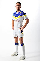 PICTURE BY VAUGHN RIDLEY/SWPIX.COM - Rugby League - ISC 2012 Super League Team Kit Shoot - 17/08/11- Warrington Wolves Richie Myler.