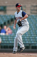 Toledo Mudhens starting pitcher Jacob Turner #50 during a game against the Empire State Yankees at Frontier Field on May 30, 2012 in Rochester, New York.  Empire State defeated Toledo 5-2.  (Mike Janes/Four Seam Images)