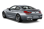 Car pictures of rear three quarter view of 2017 BMW M6 - 2 Door Coupe Angular Rear