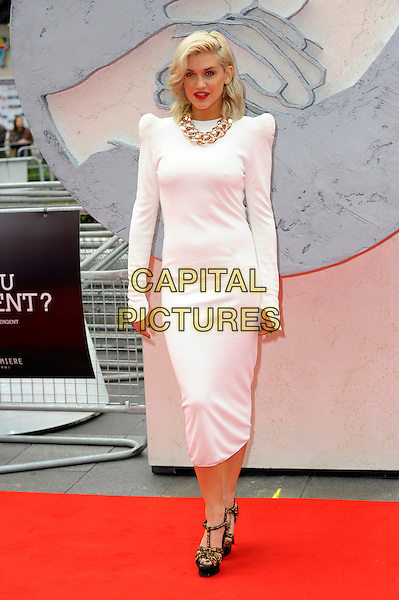 LONDON, ENGLAND - MARCH 30: Ashley Roberts attends the European premiere of 'Divergent' at Odeon Leicester Square on March 30, 2014 in London, England. <br /> CAP/CJ<br /> &copy;Chris Joseph/Capital Pictures
