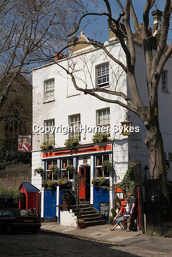 The Grenadier Public house Belgravia,  central London SW1. England.