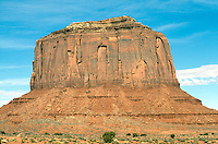 SOUTHWESTERN GEOLOGICAL FORMATIONS<br /> Merrick Butte<br /> Monument Valley, Utah