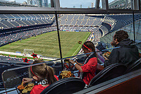 CHICAGO, IL - OCTOBER 06: US Soccer Insider Suite during a game between the USA and Korea Republic at Soldier Field, on October 06, 2019 in Chicago, IL.
