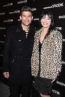 Aljaz Skorjanec and Daisy Lowe<br /> at the opening of the 'Innovation by Space NK' store on Regent's Street, London.<br /> <br /> <br /> ©Ash Knotek  D3196  10/11/2016