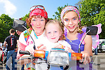 Revving to go at the Honda 50 Ring of Kerry rally in Killarney on Saturday was l-r: Brid Coffey, Edel Sweetman and Rayann Coffey   Copyright Kerry's Eye 2008