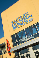 Eastern Mountain Sports store.