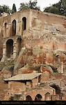 Domus Tiberiana Retaining Walls Palatine Hill Forum Romanum Rome