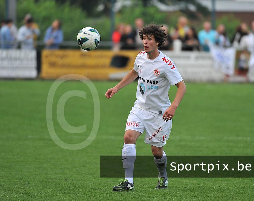 KV Kortrijk - SV Kortrijk : Gertjan De Mets<br /> foto VDB / Bart Vandenbroucke