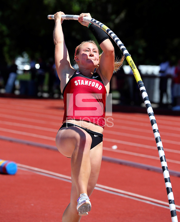 Stanford, CA; Saturday April 20, 2013: Track & Field Big Meet, Stanford vs California.