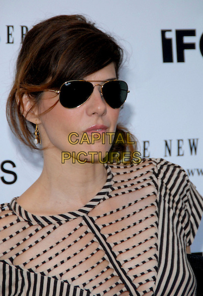 "MARISAS TOMEI.The New York Observer and IFC Films host the NY premiere of ""Factotum"" at the IFC Center, New York, NY,USA..August 8th, 2006.Photo: Paul Hawthorne/AdMedia/Capital Pictures.Ref: ADM/PH.headshot portrait sunglasses shades striped stripes.www.capitalpictures.com.sales@capitalpictures.com.©AdMedia/Capital Pictures. *** Local Caption ***"