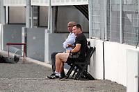 CAMPINAS, SP 16.04.2018-PONTE PRETA- Ronaldao diretor de futebol e o Tecnico Doriva durante treino da Ponte Preta no Estadio Moises Lucarelli, na cidade de Campinas (SP), nesta segunda-feira (16). (Foto: Denny Cesare/Codigo19)