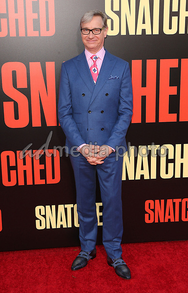 """10 May 2017 - Westwood, California - Paul Feig. """"Snatched"""" World Premiere held at the Regency Village Theatre. Photo Credit: AdMedia"""
