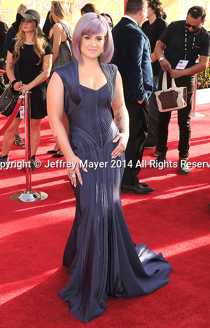 LOS ANGELES, CA- JANUARY 18: TV personality Kelly Osbourne arrives at the 20th Annual Screen Actors Guild Awards at The Shrine Auditorium on January 18, 2014 in Los Angeles, California.