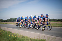 Team Total-Direct Energie training ride & preparations 1 day ahead of the 106th Tour de France 2019 (2.UWT) 'Grand Départ'<br /> <br /> ©kramon