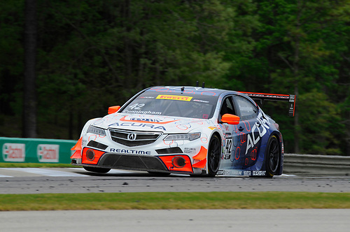 21-24 April, 2016, Birmingham, Alabama, USA<br /> #42 Peter Cunningham, Acura TLX-GT<br /> © 2016, Jay Bonvouloir, ESCP