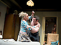Ecstasy, written and diected by Mike Leigh. With Daniel Coonan as Roy, Claire-Louise Cordwell as Val. Opens at The Hampstead  Theatre  on 15/3/11 . CREDIT Geraint Lewis