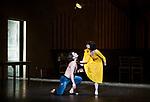 English National Ballet. Le Jeune Homme et la Mort. <br /> Coliseum Theatre, London, UK;<br /> Ivan Vasiliev;<br /> Tamara Rojo;