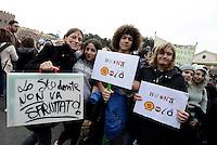 Giornata internazionale degli studenti, corteo a Roma