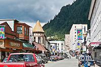 Downtown Juneau , Alaska, USA